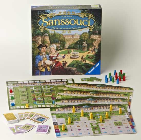 Sanssouci - Brettspiel - Foto von Ravensburger