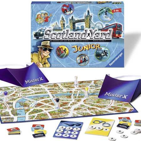 Kinderspiel Scotland Yard Junior - Foto von Ravensburger