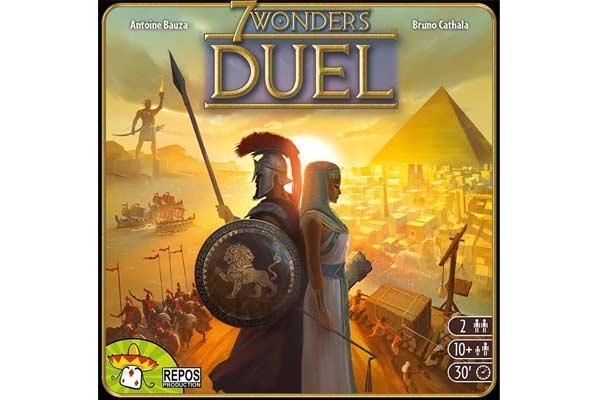 7 Wonders Duel - Foto von Repos Prod