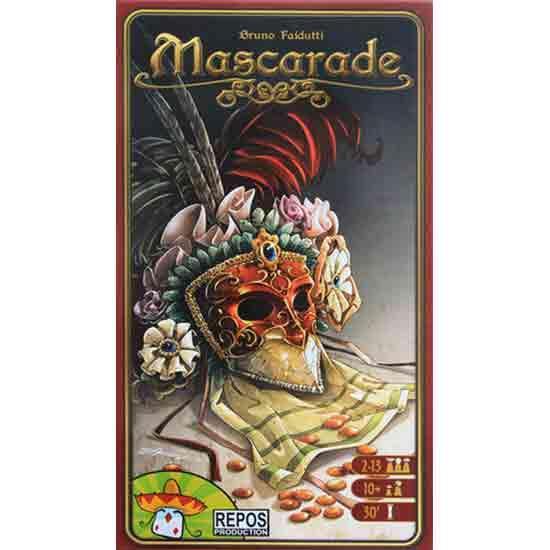 Kartenspiel Mascerade - Foto von Repos Production