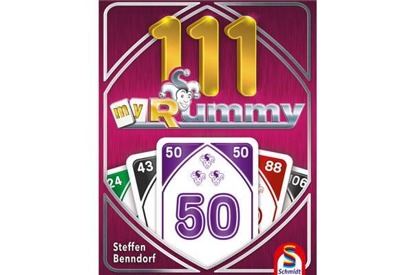 Kartenspiel 111 My Rummy - Foto von Schmidt Spiele