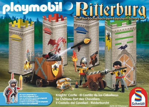 Playmobil: Ritterburg - Auf der Suche nach dem Edelstein-Schatz - Foto von Schmidt Spiele