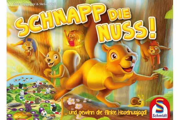 Kinderspiel Schnapp die Nuss - Foto von Schmidt Spiele