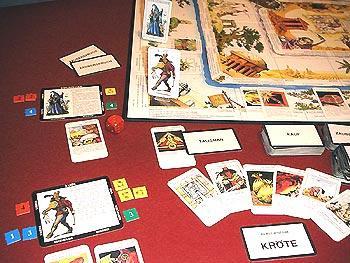 Fantasy-Brettspiel Talisman - Foto von Reich der Spiele