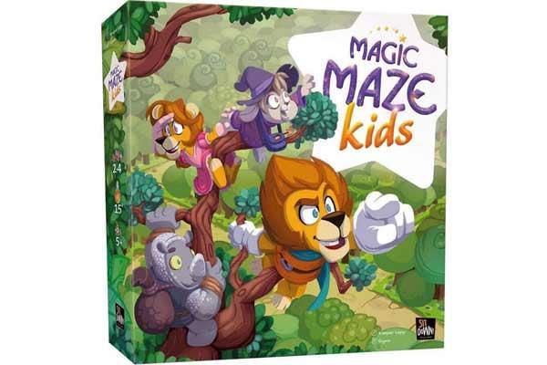 Magic Maze Kids - Foto von Sit down Games