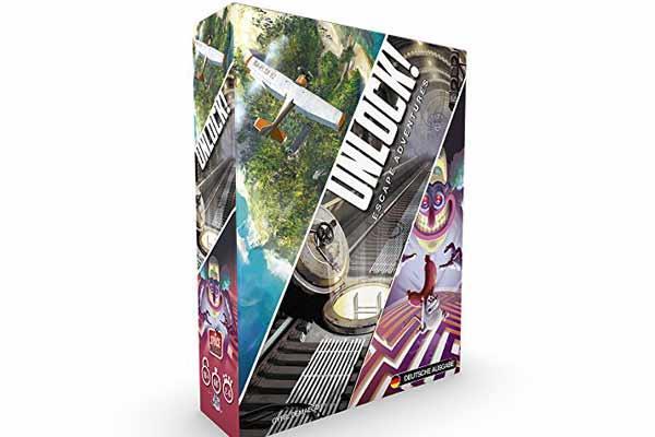 Escape-Spiel Unlock - Foto von Asmodee/Space Cowboys