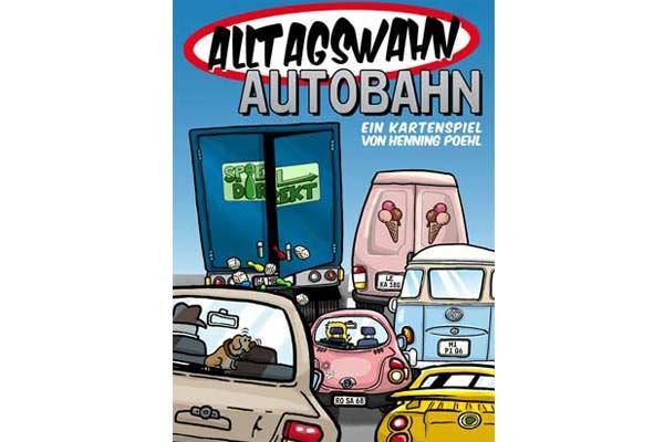 Alltagswahn Autobahn - Kartenspiel von Sphinx Spieleverlag