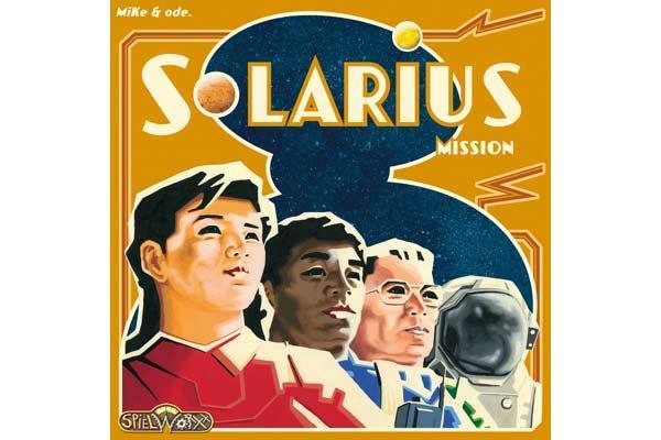 Spieleschachtel Solarius Mission - Foto von Spielworxx