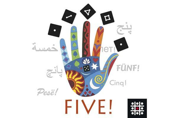 Gesellschaftsspiel Five - Foto von Steffen Spiele
