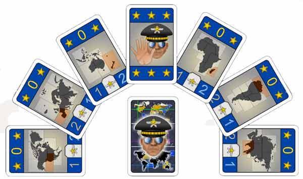 Kartenspiel General - Foto von Subär