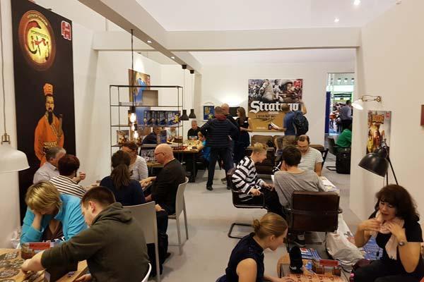 Wohnzimmeratmosphäre bei Jumbo auf der Spiel 18 in Essen - Foto Axel Bungart