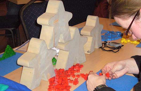 Carcassonne-Treffen 2012 - Meeplesbauwettbewerb von Axel Bungart