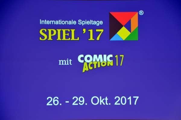Pressekonferenz auf der Spiel 17 - Foto Axel Bungart