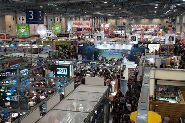Die Spielemesse 2017 in Essen - Foto von Axel Bungart