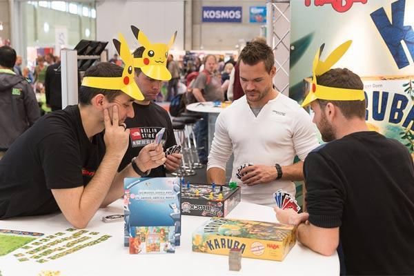 Spielen auf der Suisse Toy 2016 - Foto Bernexpo AG