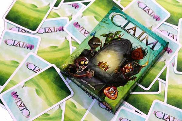 Kartenspiel Claim - Foto von White Goblin Games
