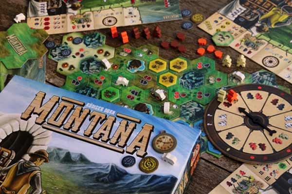 Brettspiel Montana - Foto von White Gobline Games