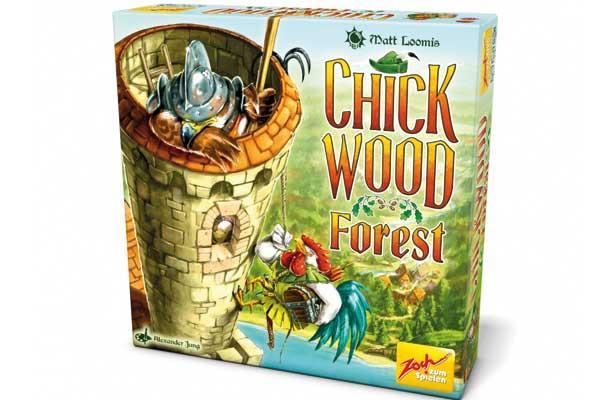 Spieleschachtel Chickwood Forest - Foto von Zoch Verlag