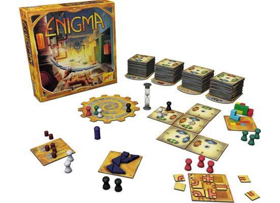 Gesellschaftsspiel Enigma - Foto von Zoch Verlag