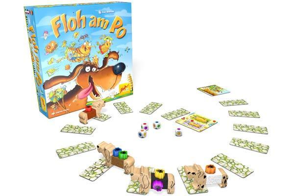 Gesellschaftsspiel Floh am Po - Foto von Zoch Verlag