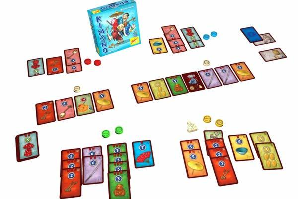 Gesellschaftsspiel Kimono - Foto von Zoch Verlag