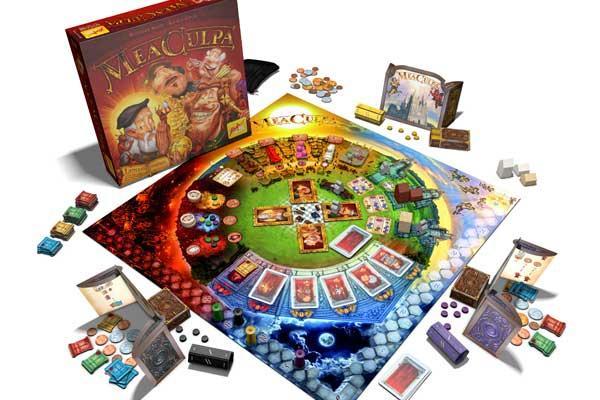Brettspiel Mea Culpa - Foto von Zoch Spiele
