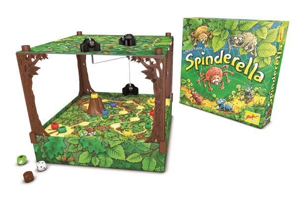 Kinderspiel des Jahres 2015 - Spinderella Foto von Zoch