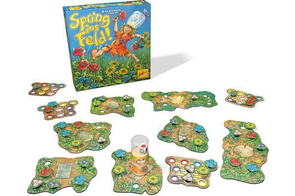 Kinderspiel Spring ins Feld - Foto von Zoch Verlag