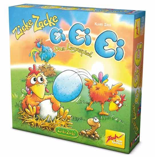 Kinderspiel Zicke Zacke: Ei, Ei, Ei - Foto von Zoch Verlag