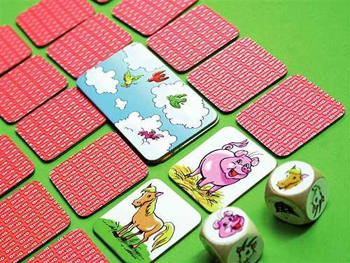 Fünf Tierfreunde von IQ Spiele