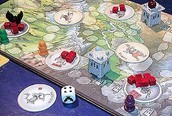 Der Herr der Ringe - Das Kinderspiel von Reich der Spiele