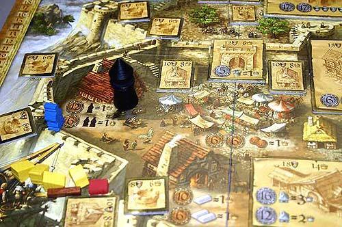 Im Schutze der Burg von Reich der Spiele