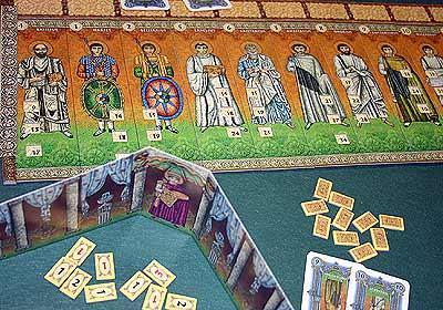 Justinian von Reich der Spiele