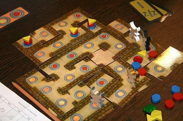 Das Labyrinth des Minotaurus von Reich der Spiele