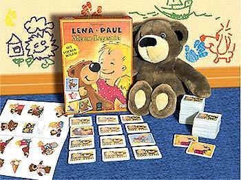 Lena und Paul - Memo-Legespiel von Amigo Spiele