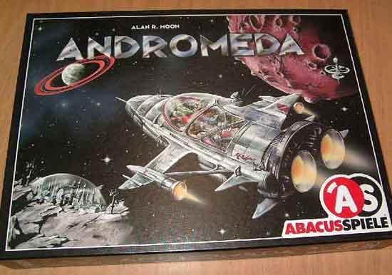 Andromeda von Abacusspiele - Grünspan - Schachtel - Foto von Roland G. Hülsmann