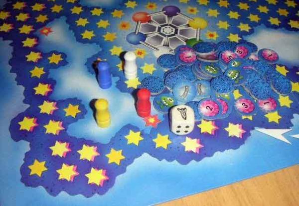 Gesellschaftsspiel Astrojagd - Foto von Roland G. Hülsmann