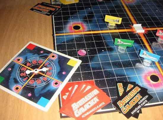 Gesellschaftsspiel Battlestar Galactica von Parker - Foto von Roland G. Hülsmann