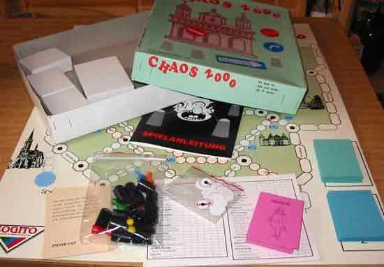 Spiel CHAOS 2000 - Foto von Roland G. Hülsmann