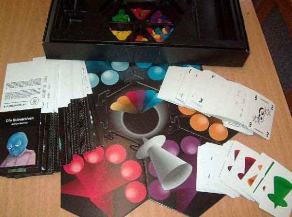 Gesellschaftsspiel Cosmic Encounter - Foto von Roland G. Hülsmann