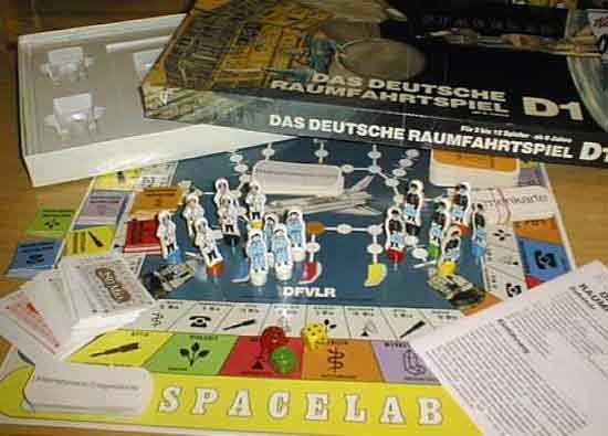 Spielmaterial Das deutsche Raumfahrtspiel - D1 - Foto von Roland G. Hülsmann