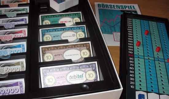 Brettspiel Börsenspiel - Foto von Roland G. Hülsmann