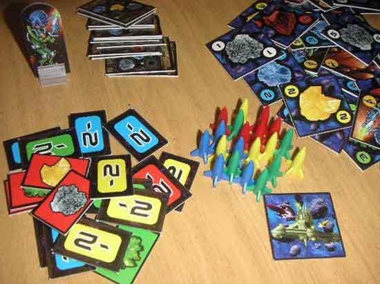 Gesellschaftsspiel Delta V von Fantasy Flight Games - Foto von Roland G. Hülsmann