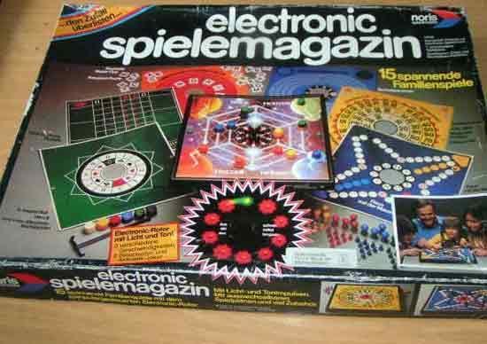 Electronic Spielemagazin von Noris Spiele - Foto Roland G. Hülsmann