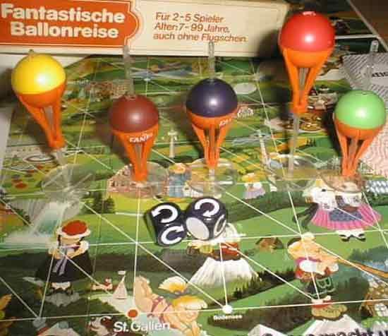Spielmaterial Fantastische Ballonreise - Foto von Roland G. Hülsmann