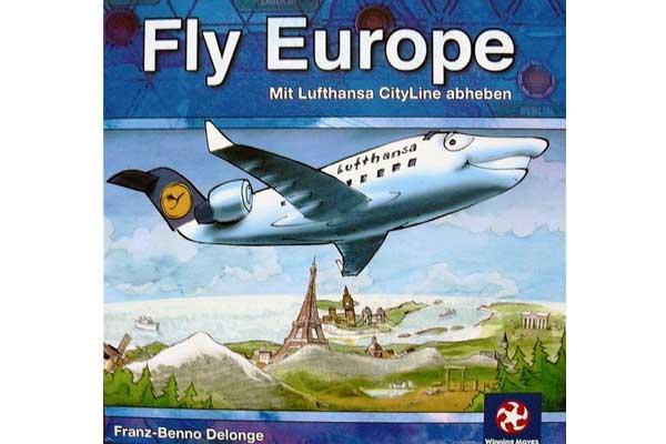 Fly Europe - Spiel von Winning Moves