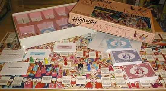 Brettspiel Highway Mary Kay - Foto von Roland G. Hülsmann