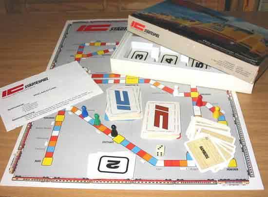 Spielmaterial IC-Städtespiel - Foto von Roland G. Hülsmann