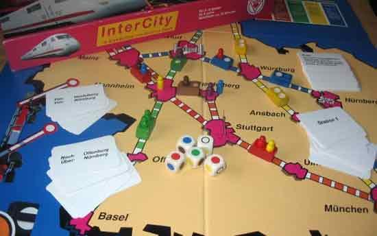 Spiel InterCity - Foto von Roland G. Hülsmann