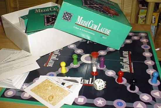 Brettspiel MediCumLaude - Foto von Roland G. Hülsmann